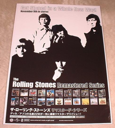 Rolling Stones - Remaster Cd Issue Promo Poster