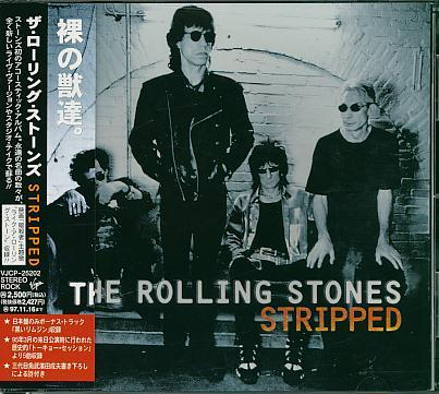 Rolling Stones - Stripped Vinyl
