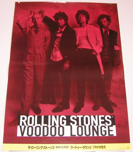 Japan Voodoo Lounge Tour Poste
