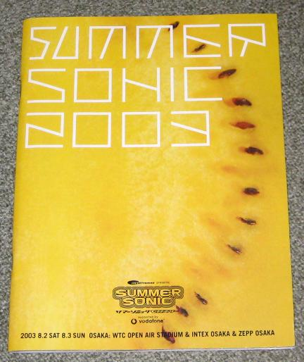 Summer Sonic 2003 Promo Flyer
