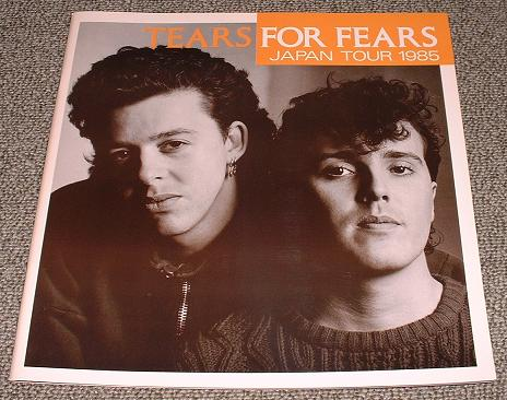 Tears For Fears Japan 1985 Tour Programme BOOK