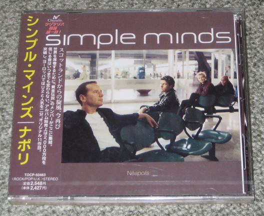 Simple Minds - Neapolis CD