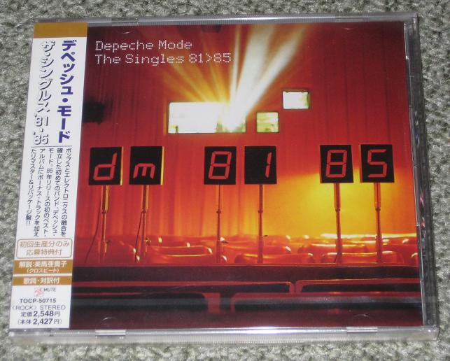 Depeche Mode - The Singles 1981-85