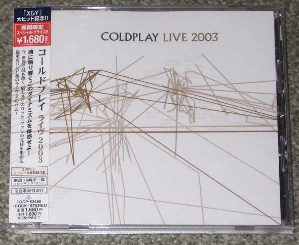 Coldplay - Live 2003 - 2005 Issue
