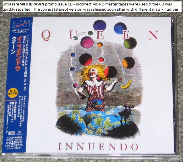 Queen - Innuendo (withdrawn)