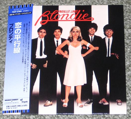 BLONDIE - Parallel Lines (+4 Bonus Tracks (jpn Lp Sleeve))