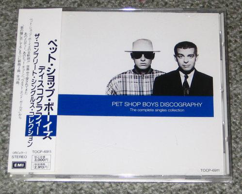 Pet Shop Boys - Discography Record