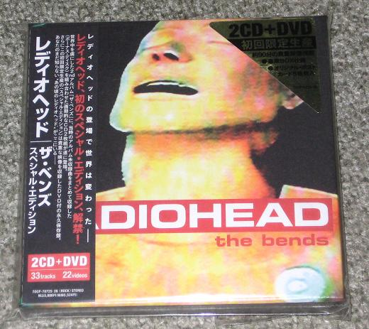 Radiohead - The Bends Special Edn 2cd+dvd