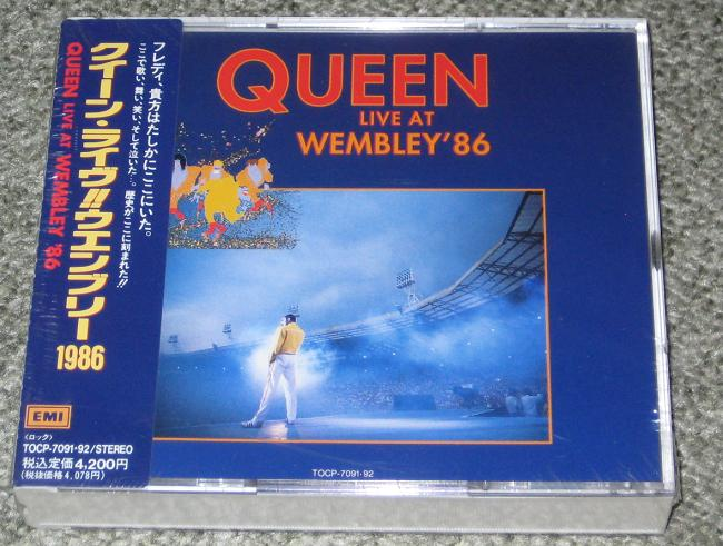 Queen - Live At Wembley CD