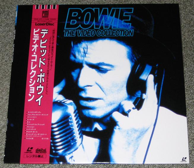 Bowie,David The+Video+Collection VIDEO:LASERDISC