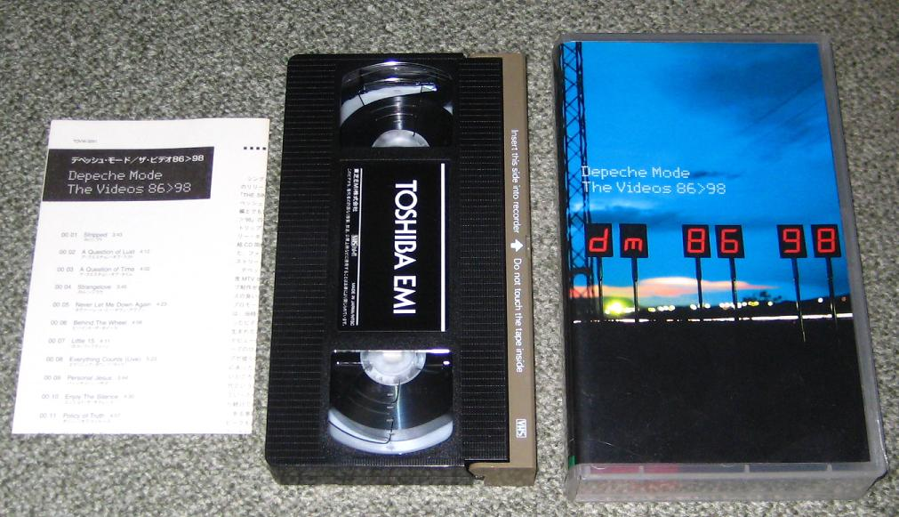 Depeche Mode The+Videos+86+-+98 VIDEO:NTSC(USA)