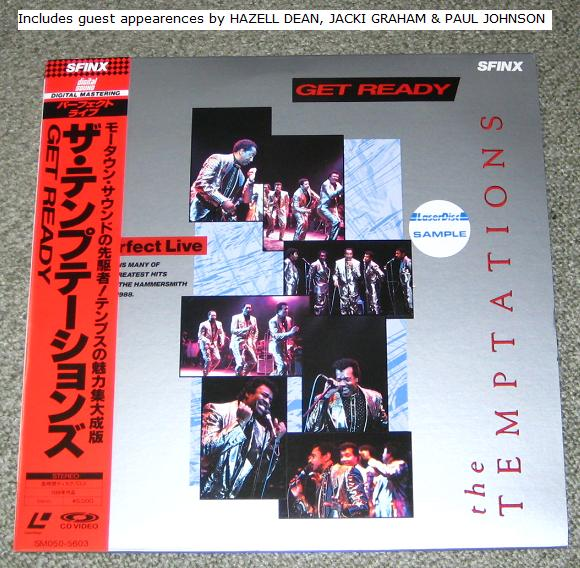 Temptations Get Ready Records Lps Vinyl And Cds Musicstack
