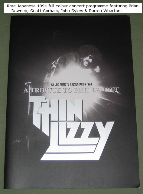 Thin Lizzy Japan '94 Tour Book