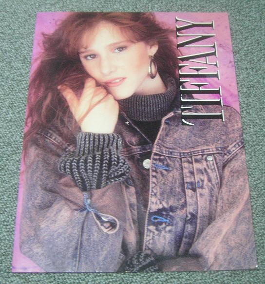 Tiffany Japan 1988 Tour Book BOOK