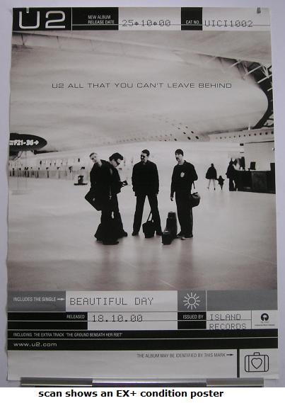 U2 - All That You Can Promo Poster
