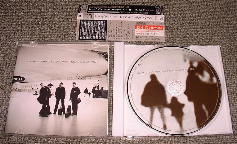 U2 - All That You Can't Leave Album