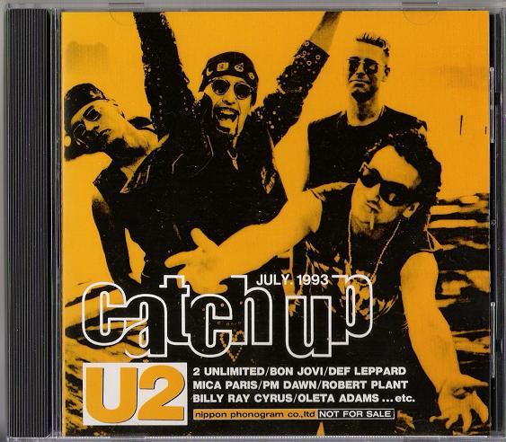 U2 - Catch Up July 1993