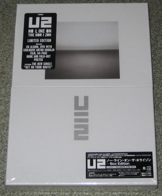 U2 - No Line On The Horizon Jpn Box