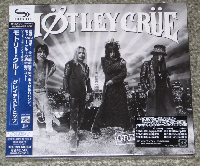 Motley Crue - Greatest Hits - Shm Cd