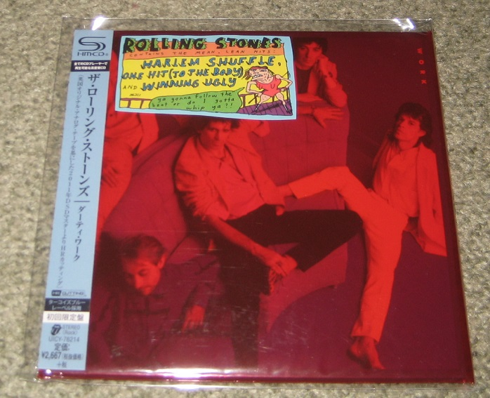 Rolling Stones Dirty Work Records Lps Vinyl And Cds