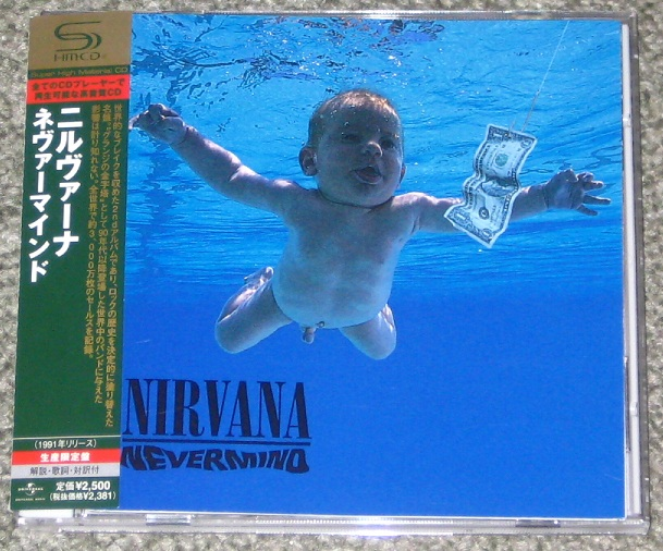 Nirvana - Nevermind - Shm Cd