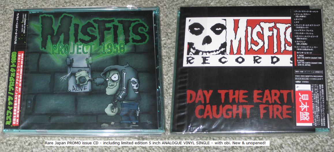 Misfits - Project 1950 (2003) [CD + DVD]