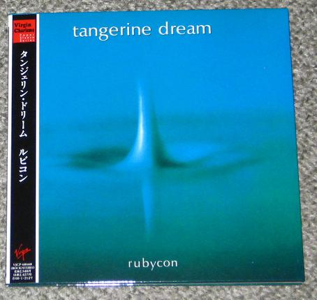 Tangerine Dream Rubycon CD