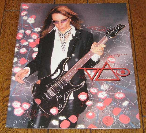 Steve Vai World 2005 Tour Book