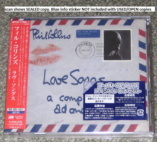 PHIL COLLINS - Love Songs - CD x 2