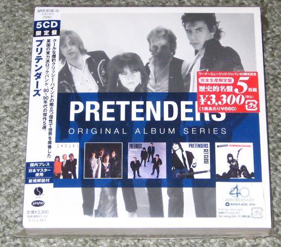 Pretenders - Original Album Series 5xcd Set