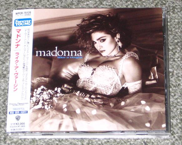 Madonna - Like A Virgin Single