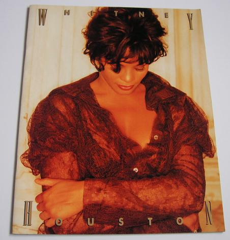 HOUSTON, WHITNEY - Japan 1993 tour programme - Concert Program
