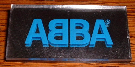 Abba Original Badge