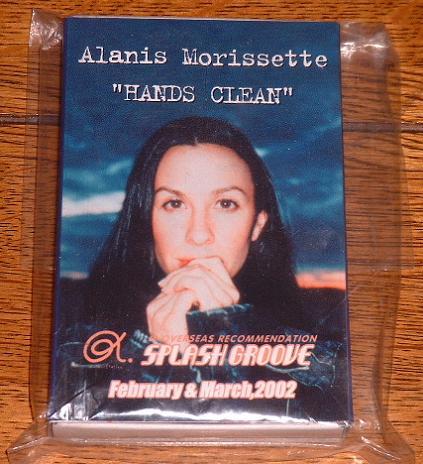 ALANIS MORISSETTE - Hands Clean - promo crayon set - Others
