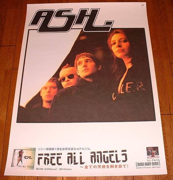 Poster For Free All Angels