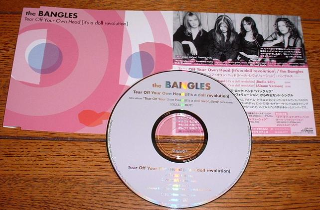 Bangles Tear+Off+Tour+Own+Head PROCD