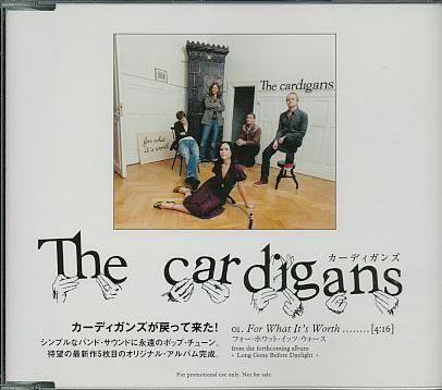 Cardigans - For What It's Worth Record