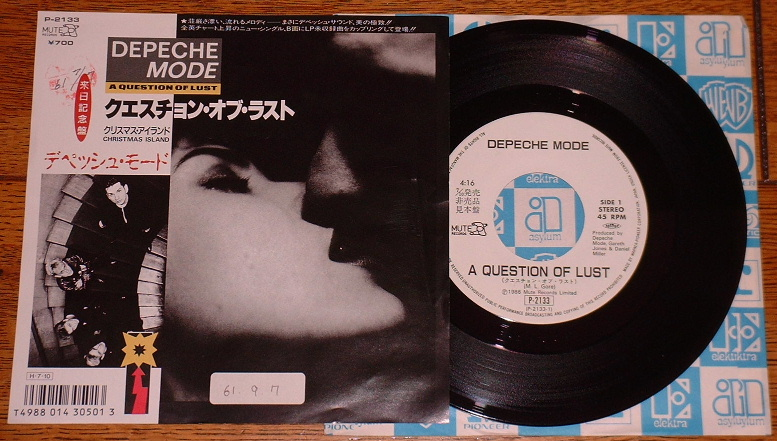 depeche mode a question of time records vinyl and cds. Black Bedroom Furniture Sets. Home Design Ideas