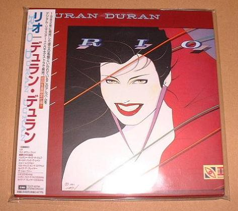 Duran Duran - Rio - Original Card Sleeve Cd