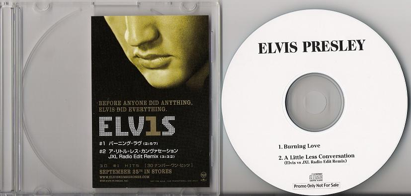 Presley, Elvis - Burning Love Single