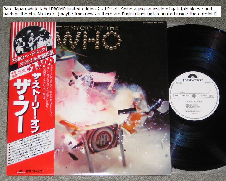 Who - The Story Of The Who Promo
