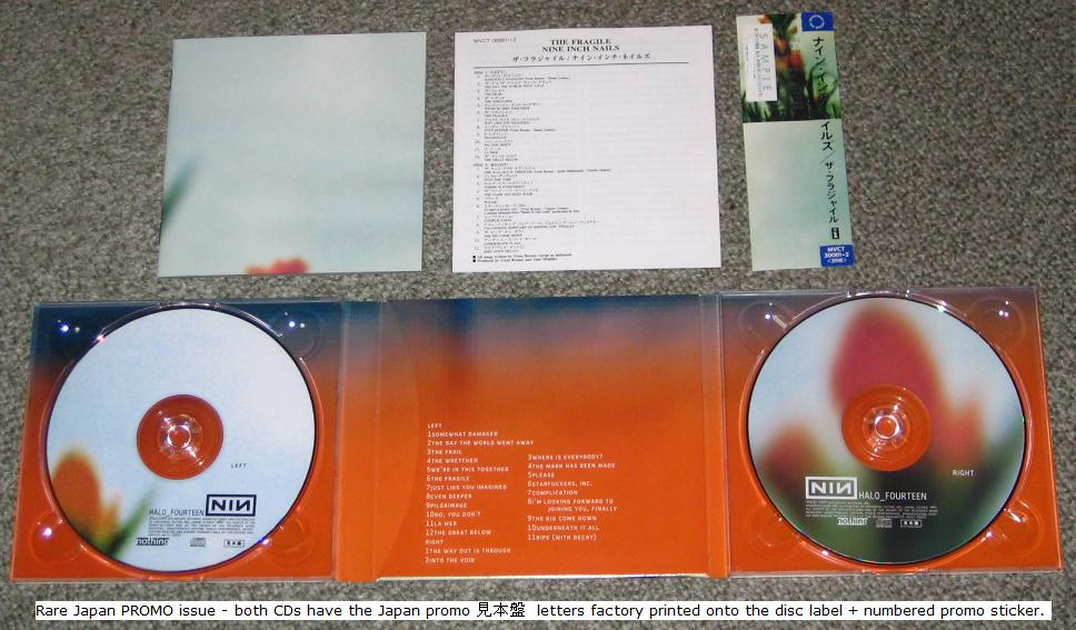 The fragile by Nine Inch Nails, CD x 2 with tokyomusic - Ref:3074932665