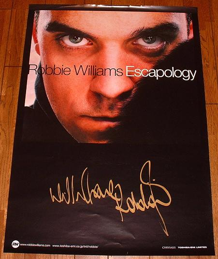 Williams, Robbie - Escapology Japan Promo Poster Album
