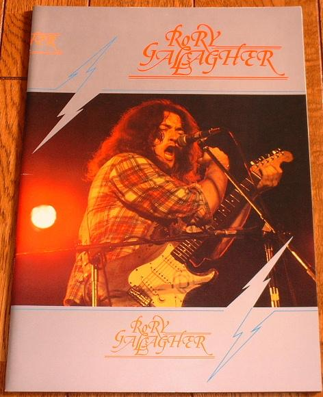 Gallagher,Rory Japan+1977+Tourbook BOOK