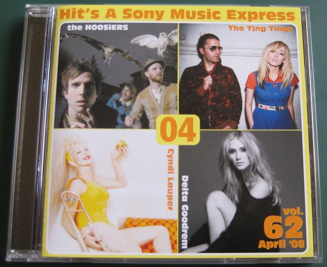 Hits A Sony Vol. 62 April 08