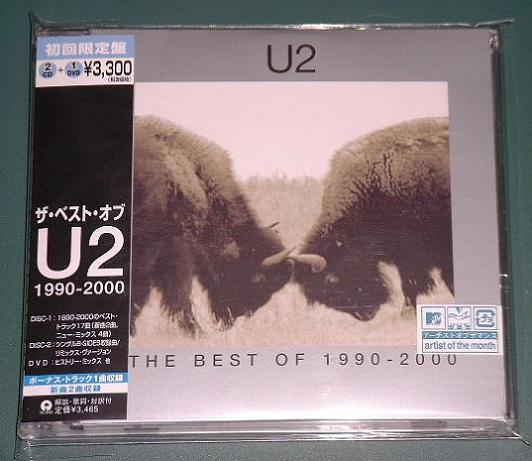 U2 - The Best Of 1990-2000 EP